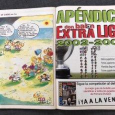 Coleccionismo deportivo: FÚTBOL DON BALÓN 1405 - PÓSTER RONALDO - APÉNDICE EXTRA LIGA - DEPORTIVO - VALENCIA - MALLORCA. Lote 169806293
