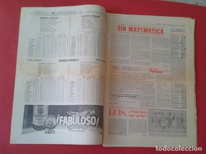 Coleccionismo deportivo: DIARIO MARCA Nº 12.734 DE 13 DICIEMBRE 1982 FÚTBOL CLUB BARCELONA REAL MADRID BILBAO...ACORRALADO... - Foto 3 - 169808584