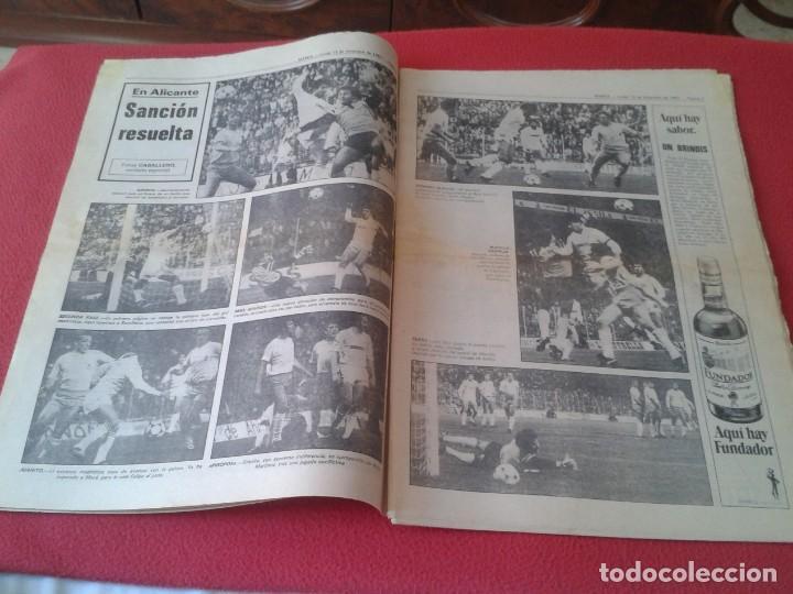 Coleccionismo deportivo: DIARIO MARCA Nº 12.734 DE 13 DICIEMBRE 1982 FÚTBOL CLUB BARCELONA REAL MADRID BILBAO...ACORRALADO... - Foto 5 - 169808584