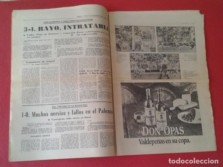 Coleccionismo deportivo: DIARIO MARCA Nº 12.734 DE 13 DICIEMBRE 1982 FÚTBOL CLUB BARCELONA REAL MADRID BILBAO...ACORRALADO... - Foto 9 - 169808584