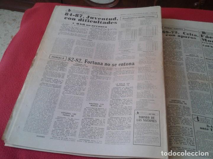 Coleccionismo deportivo: DIARIO MARCA Nº 12.734 DE 13 DICIEMBRE 1982 FÚTBOL CLUB BARCELONA REAL MADRID BILBAO...ACORRALADO... - Foto 12 - 169808584