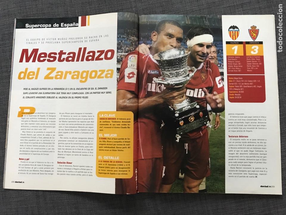 Coleccionismo deportivo: Fútbol don balón 1507 - Póster Zidane - Kaká - Zaragoza y Valencia Campeón Supercopa - Argentina - Foto 2 - 169816338