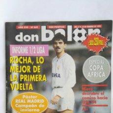 Coleccionismo deportivo: REVISTA DON BALÓN N° 849 FEBRERO 1992. Lote 169835644