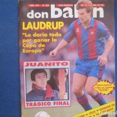 Coleccionismo deportivo: DON BALÓN N.º 858 AÑO XVII ABRIL 1992. Lote 169865372