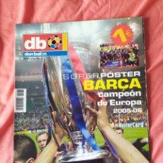 Coleccionismo deportivo: DON BALON EXTRA 86 BARCELONA CAMPEÓN DE EUROPA 2005 2006. Lote 169901720