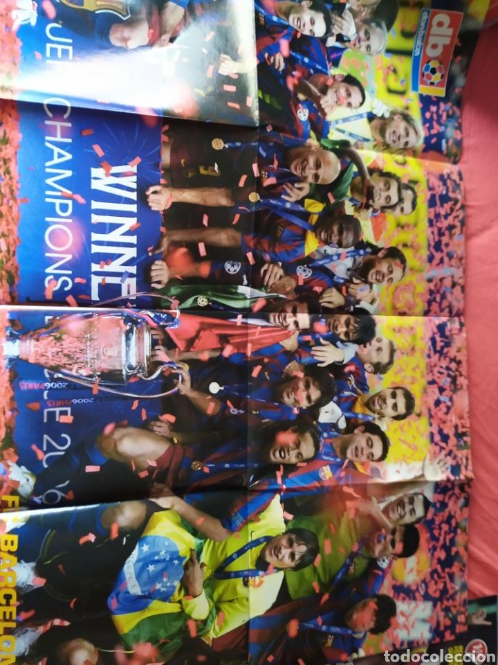 Coleccionismo deportivo: Don balon extra 86 Barcelona campeón de Europa 2005 2006 - Foto 2 - 169901720