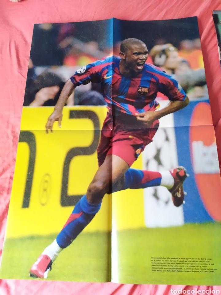 Coleccionismo deportivo: Don balon extra 86 Barcelona campeón de Europa 2005 2006 - Foto 3 - 169901720