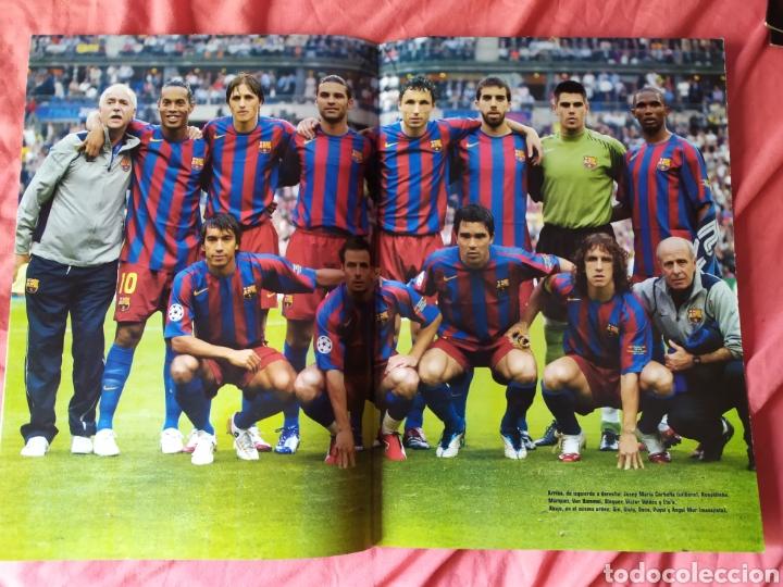 Coleccionismo deportivo: Don balon extra 86 Barcelona campeón de Europa 2005 2006 - Foto 4 - 169901720