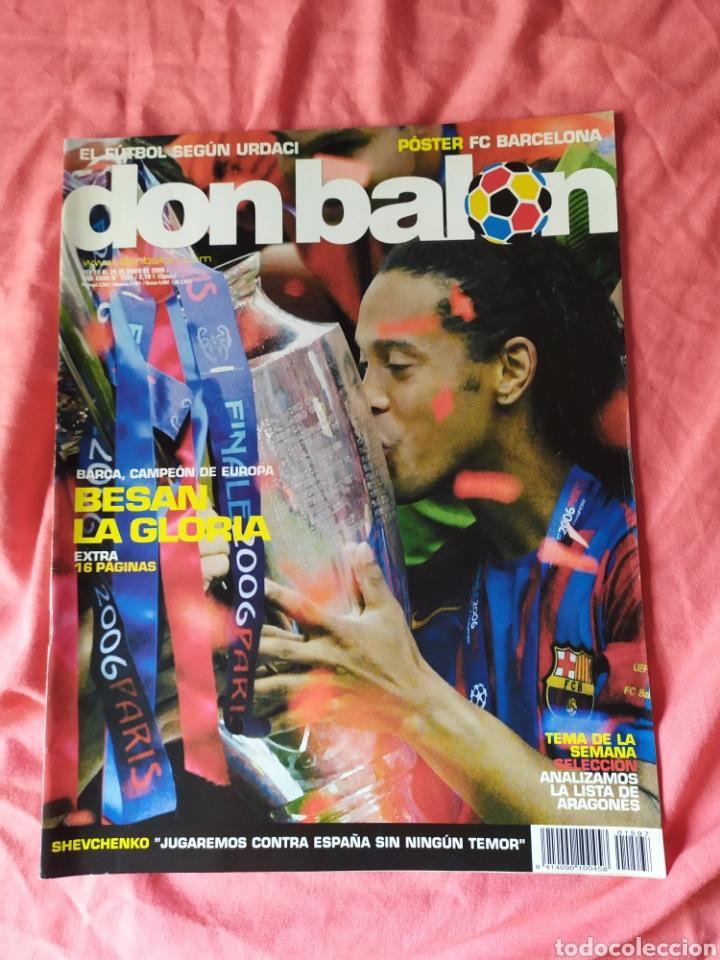 DON BALON NÚMERO 1597 BARCELONA CAMPEÓN DE CHAMPIONS LEAGUE 2005 2006 (Coleccionismo Deportivo - Revistas y Periódicos - Don Balón)