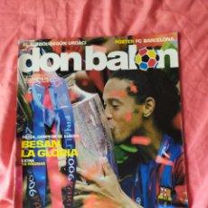 Coleccionismo deportivo: DON BALON NÚMERO 1597 BARCELONA CAMPEÓN DE CHAMPIONS LEAGUE 2005 2006. Lote 169902813