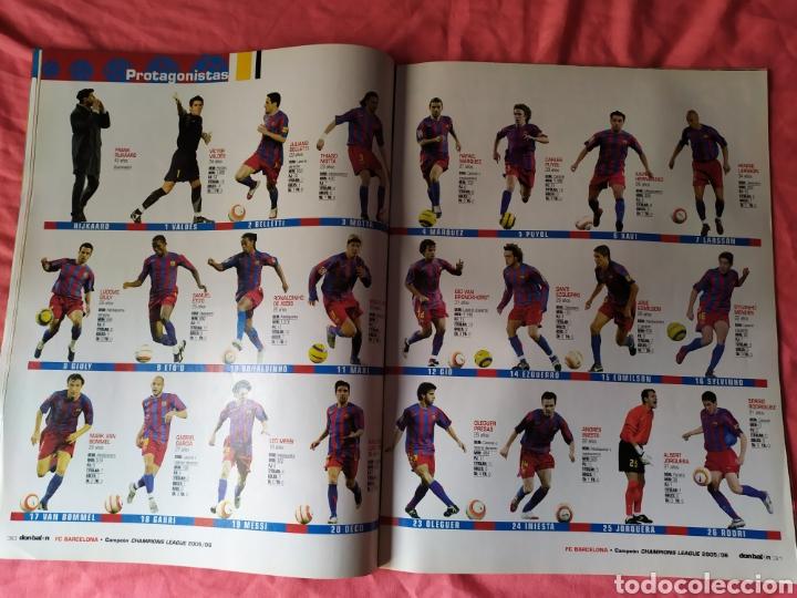 Coleccionismo deportivo: Don balon número 1597 Barcelona campeón de champions League 2005 2006 - Foto 2 - 169902813