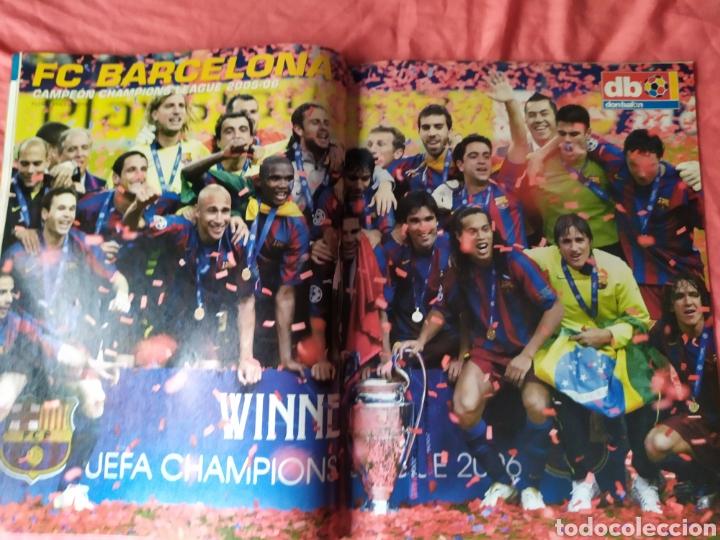 Coleccionismo deportivo: Don balon número 1597 Barcelona campeón de champions League 2005 2006 - Foto 3 - 169902813