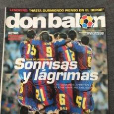 Coleccionismo deportivo: FÚTBOL DON BALÓN 1511 - PÓSTER REAL SOCIEDAD - BARÇA - ATHLETIC - BARESI MILÁN - ALMERIA. Lote 169912229