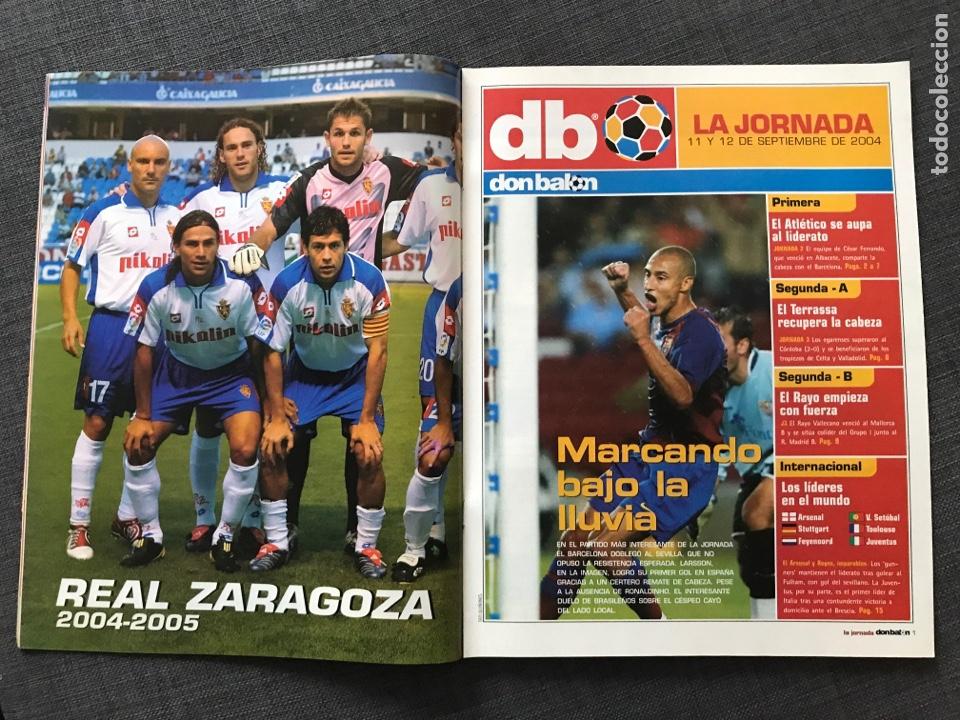 Coleccionismo deportivo: Fútbol don balón 1509 - Póster Zaragoza - Real Madrid - Copa Europa - Rogelio Betis - España - Foto 2 - 169913084