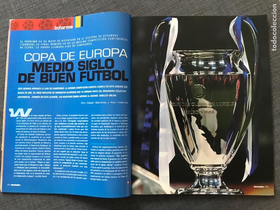 Coleccionismo deportivo: Fútbol don balón 1509 - Póster Zaragoza - Real Madrid - Copa Europa - Rogelio Betis - España - Foto 3 - 169913084