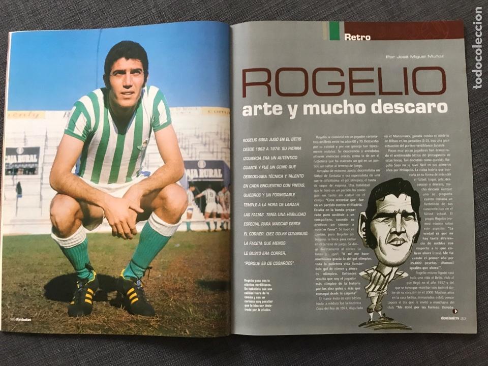 Coleccionismo deportivo: Fútbol don balón 1509 - Póster Zaragoza - Real Madrid - Copa Europa - Rogelio Betis - España - Foto 4 - 169913084