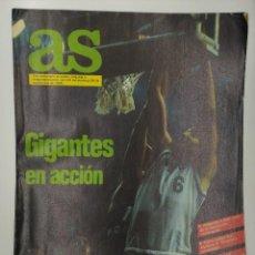 Coleccionismo deportivo: REVISTA AS SEPTIEMBRE 1985. Lote 169917952
