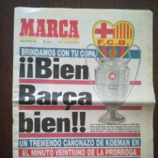 Coleccionismo deportivo: MARCA BARCELONA CAMPEÓN DE EUROPA 1992. Lote 169957092