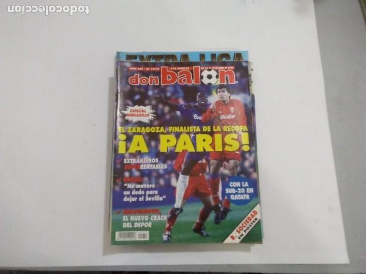 DON BALON Nº 1019 PÓSTER R. SOCIEDAD (Coleccionismo Deportivo - Revistas y Periódicos - Don Balón)