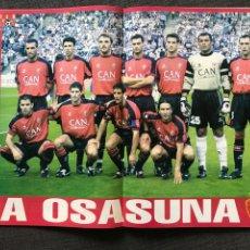 Coleccionismo deportivo: FÚTBOL DON BALÓN 1302 - PÓSTER OSASUNA - CELTA - ESPANYOL - COPAS EUROPEAS - JUEGOS OLÍMPICOS. Lote 170002088