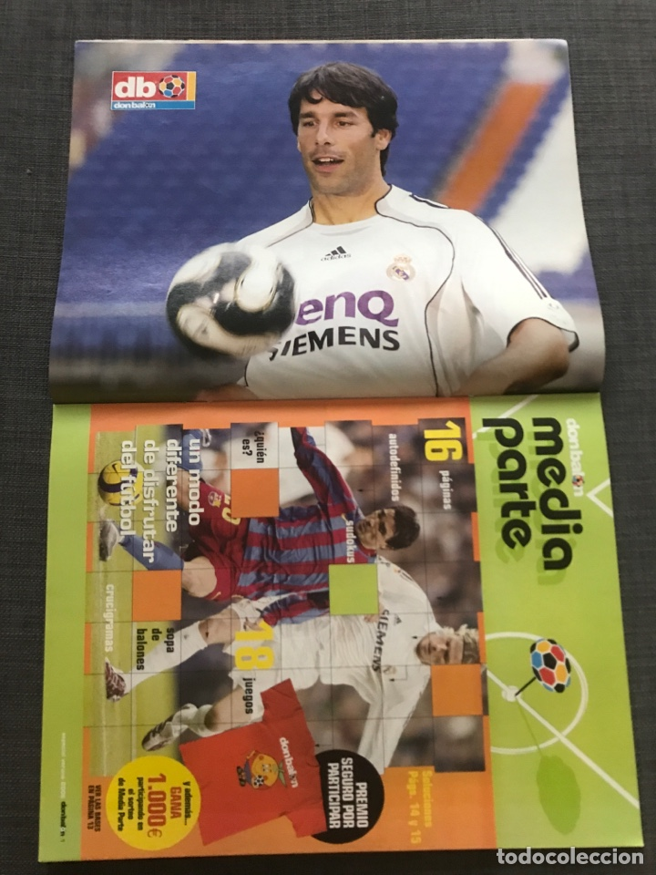 Coleccionismo deportivo: Fútbol don balón 1609 - Póster V. Nistelrooy - Barça - Espanyol - Osasuna - Charlton - Holanda - Foto 2 - 170116429