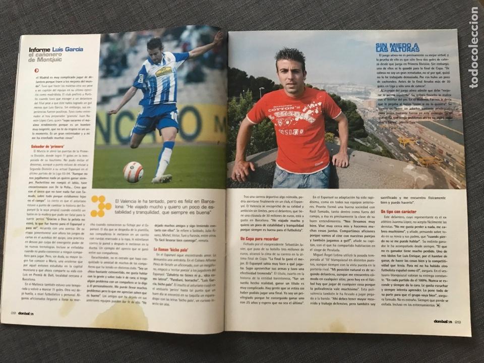 Coleccionismo deportivo: Fútbol don balón 1609 - Póster V. Nistelrooy - Barça - Espanyol - Osasuna - Charlton - Holanda - Foto 4 - 170116429