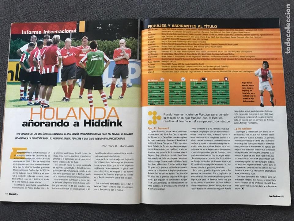 Coleccionismo deportivo: Fútbol don balón 1609 - Póster V. Nistelrooy - Barça - Espanyol - Osasuna - Charlton - Holanda - Foto 7 - 170116429