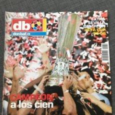 Coleccionismo deportivo: FÚTBOL EXTRA DON BALÓN 84 - SEVILLA CAMPEÓN UEFA CUP 2005-06 - POSTER SEVILLA - AS MARCA. Lote 170118037