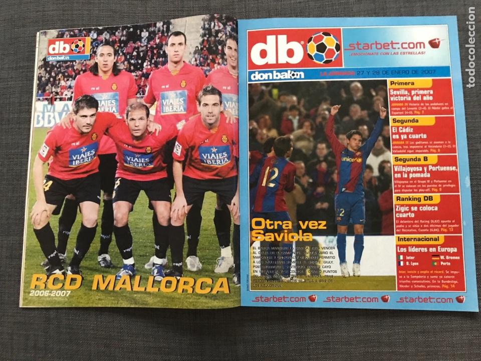 Coleccionismo deportivo: Fútbol don balón 1633 - Póster Mallorca - Saviola - Recre - Peñarol - Cavani - Pochettino - Wenger - Foto 2 - 170118393