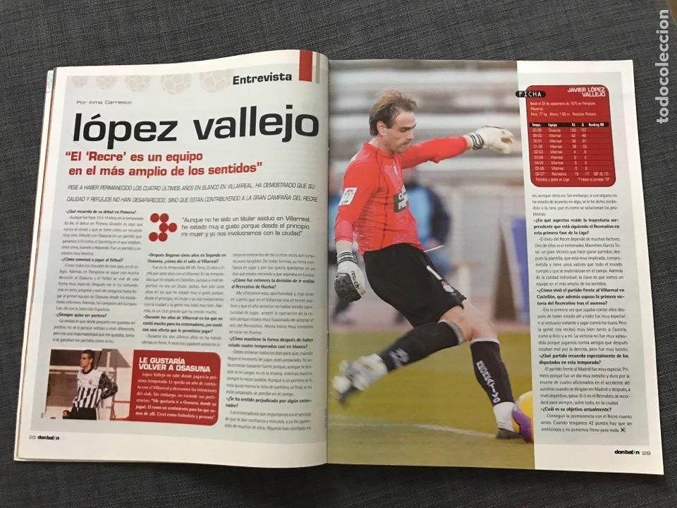 Coleccionismo deportivo: Fútbol don balón 1633 - Póster Mallorca - Saviola - Recre - Peñarol - Cavani - Pochettino - Wenger - Foto 4 - 170118393