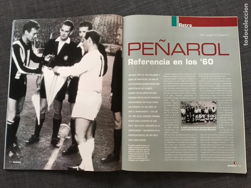 Coleccionismo deportivo: Fútbol don balón 1633 - Póster Mallorca - Saviola - Recre - Peñarol - Cavani - Pochettino - Wenger - Foto 5 - 170118393