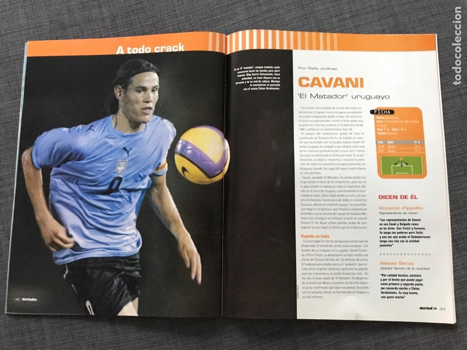 Coleccionismo deportivo: Fútbol don balón 1633 - Póster Mallorca - Saviola - Recre - Peñarol - Cavani - Pochettino - Wenger - Foto 6 - 170118393