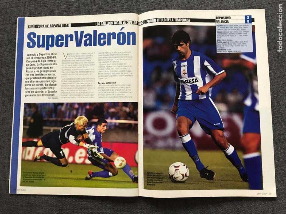 Coleccionismo deportivo: Fútbol don balón 1401 - Real Madrid - Amor - Fontaine - Ferguson - España Supercopa Deportivo - Foto 2 - 170205566