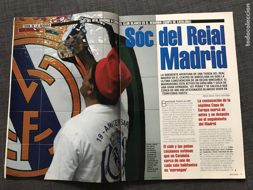 Coleccionismo deportivo: Fútbol don balón 1401 - Real Madrid - Amor - Fontaine - Ferguson - España Supercopa Deportivo - Foto 3 - 170205566