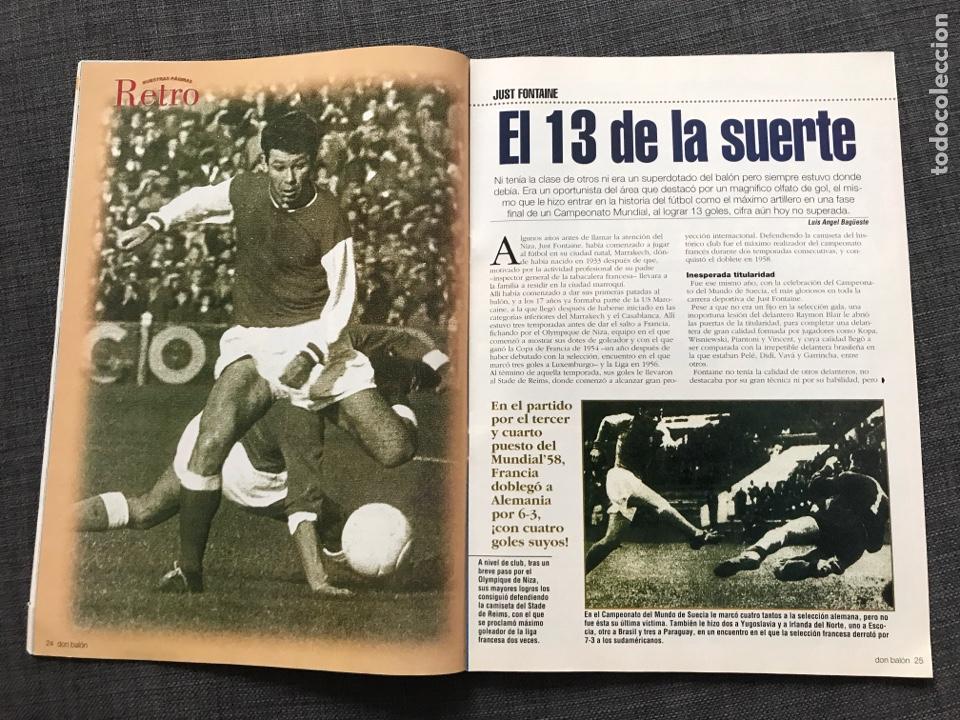 Coleccionismo deportivo: Fútbol don balón 1401 - Real Madrid - Amor - Fontaine - Ferguson - España Supercopa Deportivo - Foto 5 - 170205566