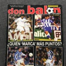 Coleccionismo deportivo: FÚTBOL DON BALÓN 1437 - DEPORTIVO - ATHLETIC - NOTARIO SEVILLA - COPAS EUROPEAS. Lote 170294216