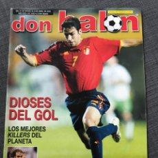 Coleccionismo deportivo: FÚTBOL DON BALÓN 1433 - DIOSES DEL GOL - ESPAÑA - VAN NISTELROOY - RECREATIVO. Lote 170294540