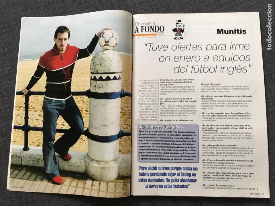 Coleccionismo deportivo: Fútbol don balón 1427 - Zidane - Real Sociedad - Munitis - Zanetti - Bianchi - Foto 2 - 170294934