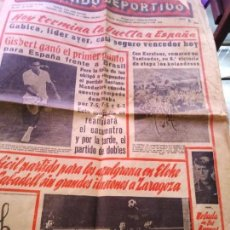 Coleccionismo deportivo: EL MUNDO DEPORTIVO DOMINGO 15 DE MAYO DE 1966 HOY TERMINA LA VUELTA A ESPAÑA AZULGRANAS. Lote 170424680