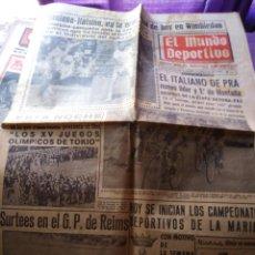 Coleccionismo deportivo: EL MUNDO DEPORTIVO VIERNES 1 DE JULIO 1966 SANTANA RALSTON WIMBLENDON . Lote 170426828