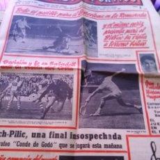 Coleccionismo deportivo: EL MUNDO DEPORTIVO DOMINGO 22 DE MAYO DE 1966 TODO ES POSIBLE PARA EL BARCELONA EN LA ROMAREDA . Lote 170427024