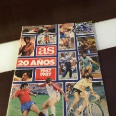 Coleccionismo deportivo: EXTRA AS 20 AÑOS 1967 1987. Lote 170434600