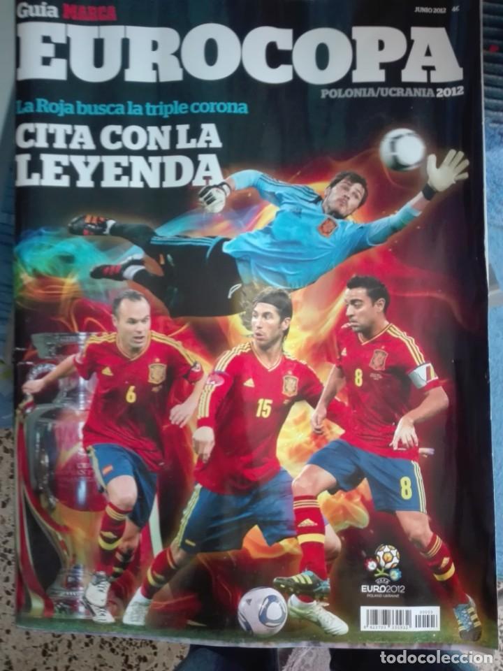 GUIA MARCA EUROCOPA 2012 (Coleccionismo Deportivo - Revistas y Periódicos - Marca)