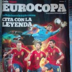 Coleccionismo deportivo: GUIA MARCA EUROCOPA 2012. Lote 170456521
