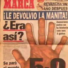Coleccionismo deportivo: 5 A 0 DEL REAL MADRID AL BARCELONA. Lote 170886100