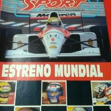 Coleccionismo deportivo: SPORT .EXTRA GP DE ESPAÑA F-1 SEPTIEMBRE 1991. Lote 171058079