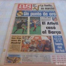 Collectionnisme sportif: AS(27-4-92)AT.MADRID 3 BILBAO 1,R.SOCIEDAD 2 R.MADRID 2,MALLORCA 4 DEPOR 2,VUELTA CICLISTA 1992. Lote 171215804