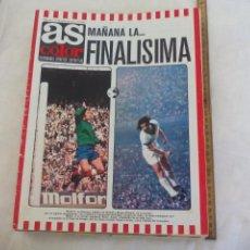 Coleccionismo deportivo: REVISTA AS COLOR. NUM. Nº 156, 1974. POSTER-SELECCION NACIONAL DE ALEMANIA OCCIDENTAL. OYARZABAL. Lote 171364548