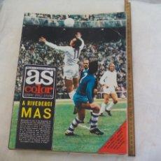 Coleccionismo deportivo: REVISTA AS COLOR. NUM. Nº 155, 1974. POSTER ATLETICO DE MADRID Y POSTER SEAT 132,. Lote 171365174