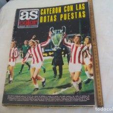 Coleccionismo deportivo: REVISTA AS COLOR. NUM Nº 157 ATLETICO DE MADRID FINAL COPA EUROPA 73/74 BAYERN MUNICH. POSTER HAITI. Lote 171365915